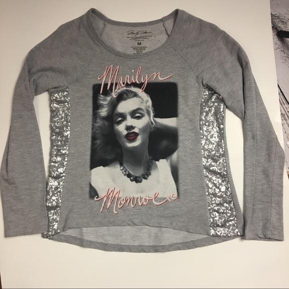 Marilyn Monroe Tops - Marilyn Monroe graphic T Shirt/Junior XL